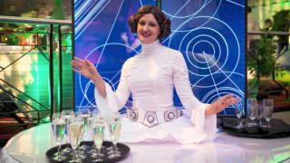 Helter Skelter Films Theme Princess Leia living table