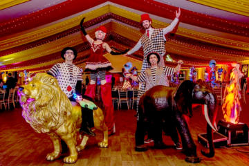 Helter Skelter Circus theme
