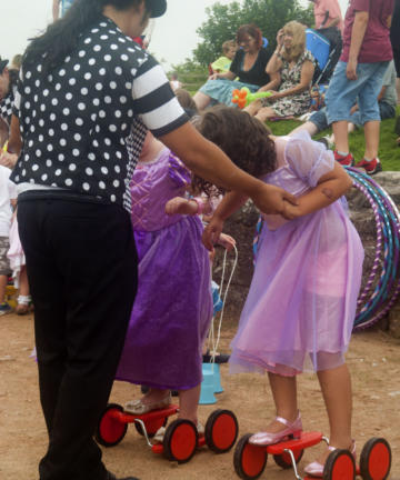 Circus workshop for children