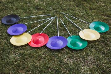 Helter Skelter Acts Circus Workshop Spinning Plates